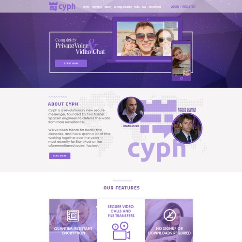 Email template for Cyph
