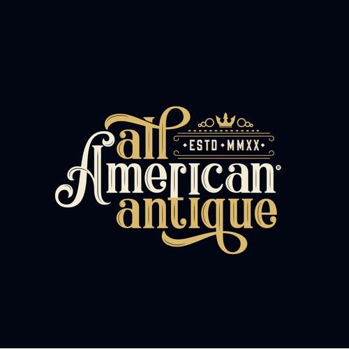 logo type vintage elegant