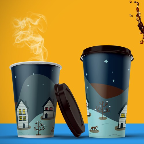 packaging coffee cup