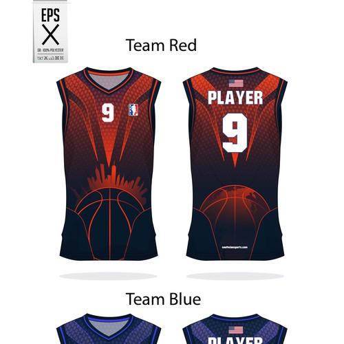 basket ball jersey for sabl team