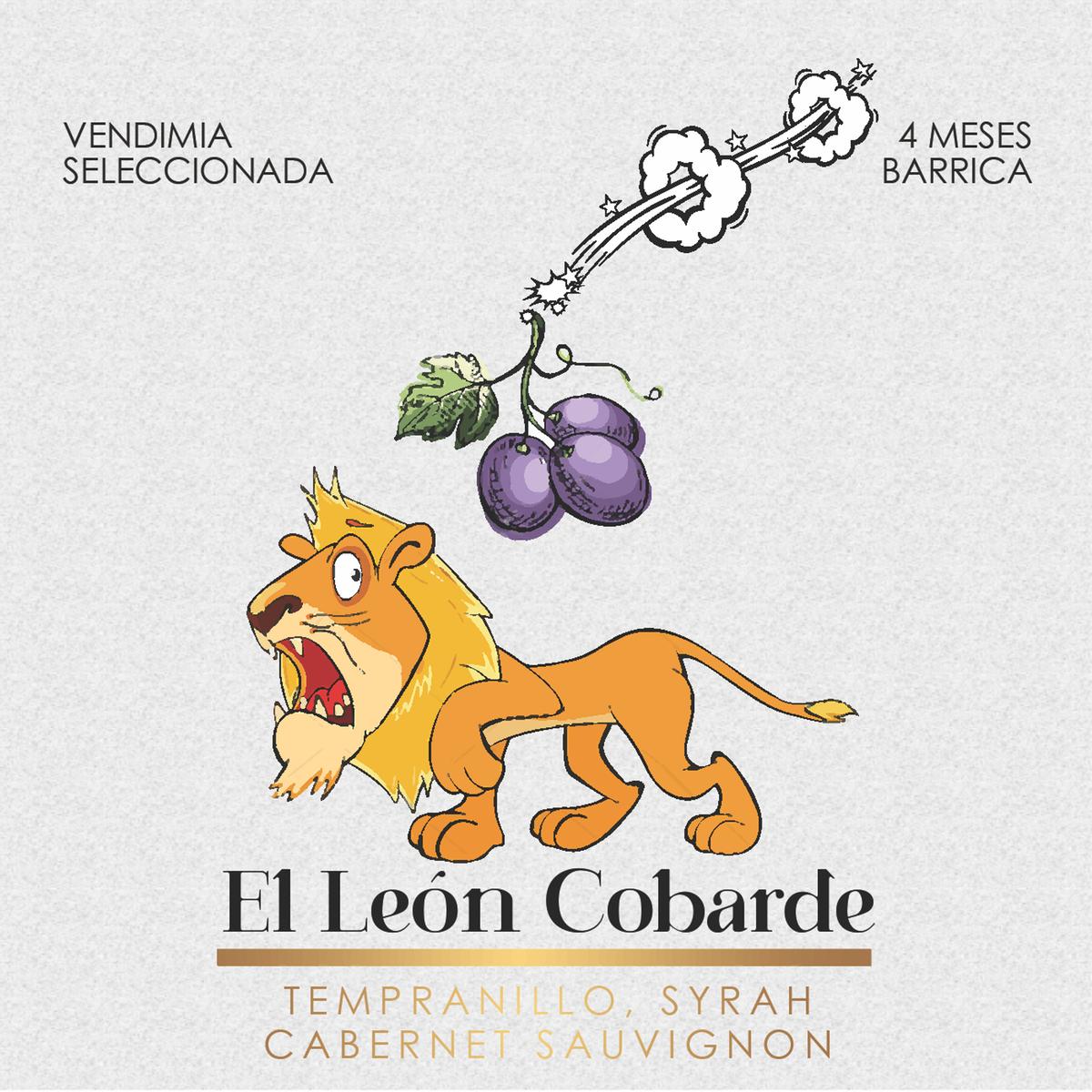 Cuadro para León Cobarde y Mago de Pioz 100x100 cm