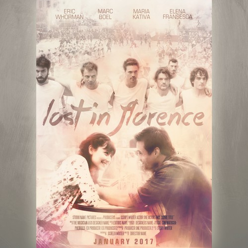 Lost In Florence Movie Poster