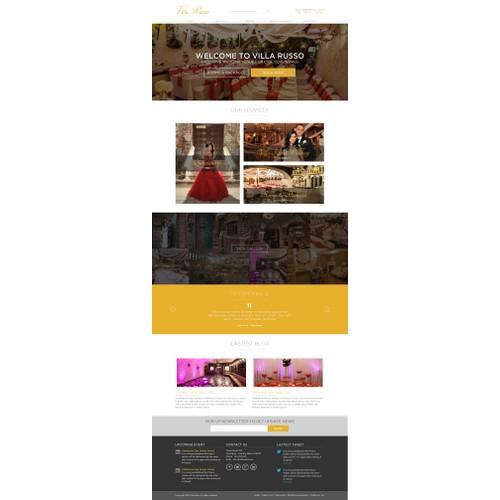 Wedding Venue Needs World Class Website