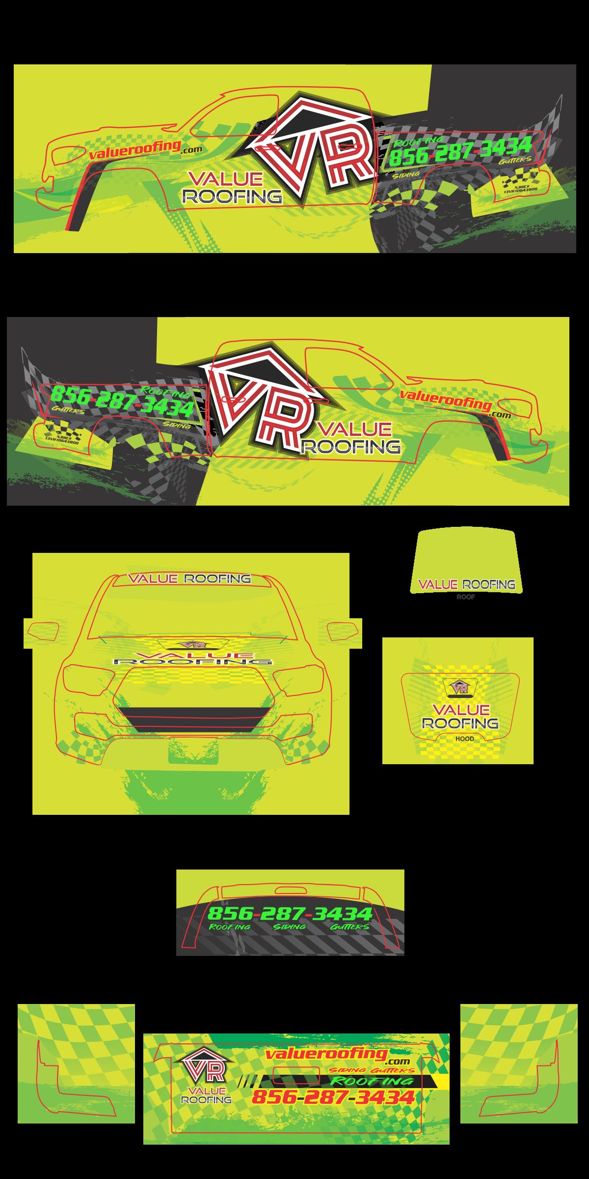 Badass Baja race truck inspired wrap.