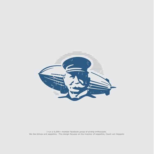 Logo design for an Airship Enthusiast group