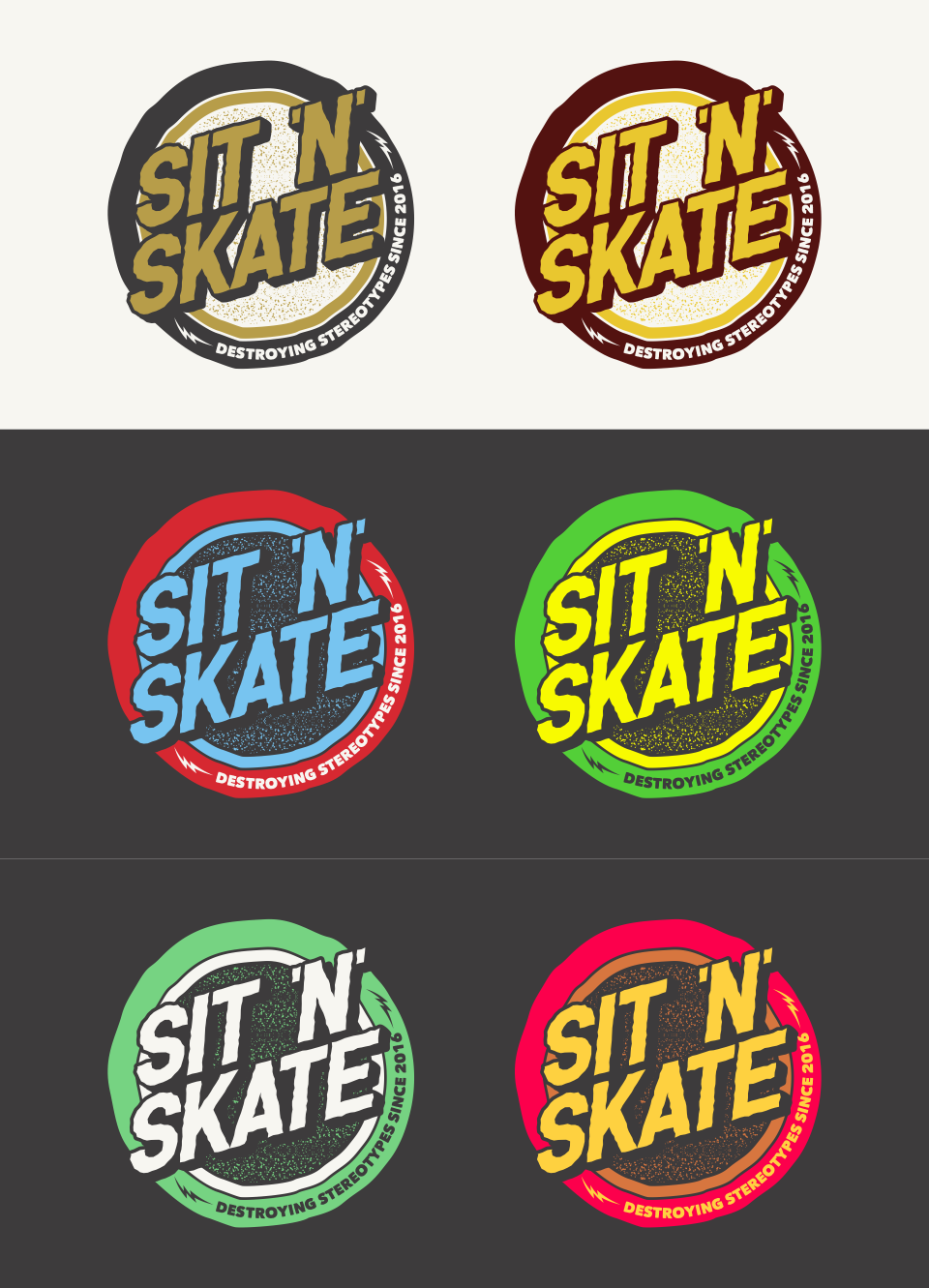 SKATE-style Logo + Corporate Identity for WHEELCHAIR users