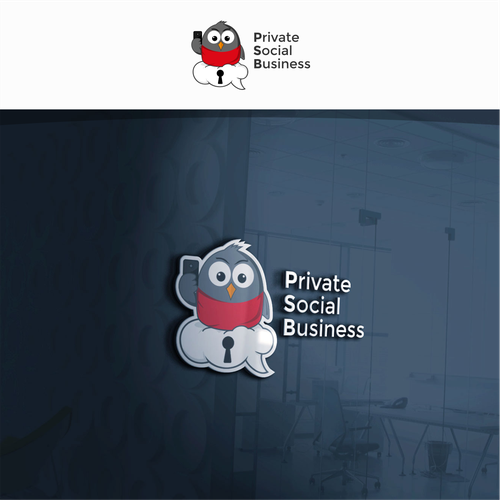 Logo design for Private Social Business (PSB)