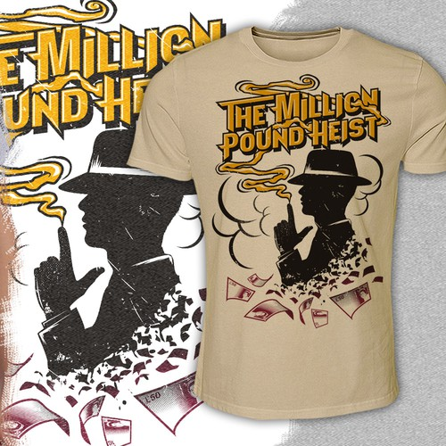 the million pound heist T