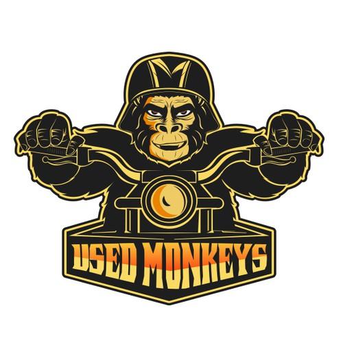 Logo for moto club