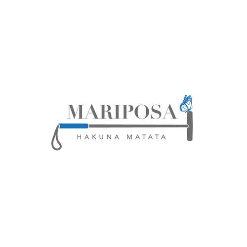 Logo for Mariposa Polo Team.