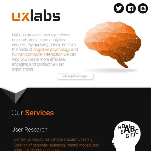 Create a website for uxlabs.co.uk