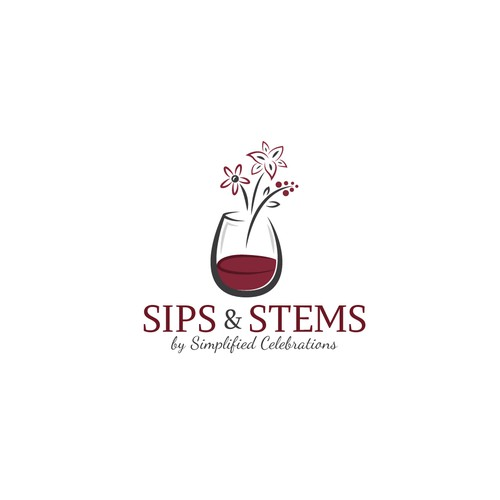 New logo wanted for Sips n Stems by Simplified Celebrations