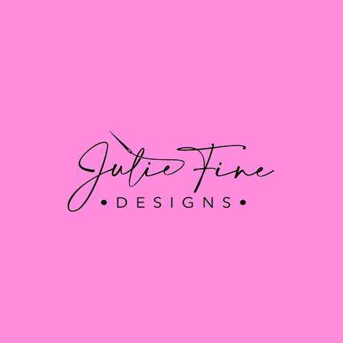 Logo Design for Julie Fine Design