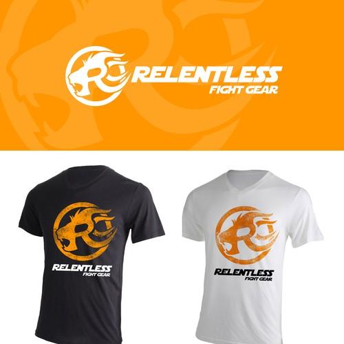 Logo Design for Relentless Fight Gear