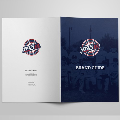 Brand Guidlines for sports brand group.