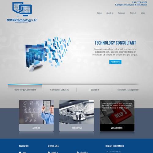 Website for Doerr technology