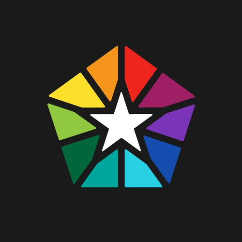 Star + Rainbow logo