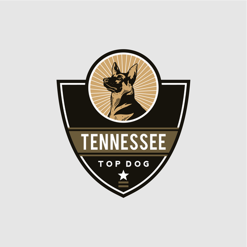 Logo concept for Tennessee Top Dog