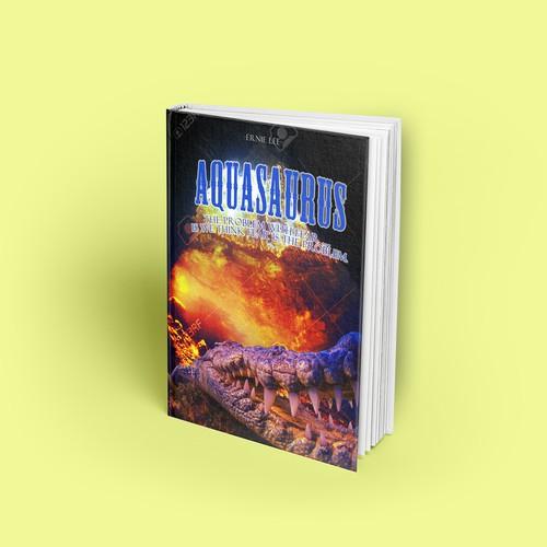 """Contestant on """"Aquasaurus"""" cover book contest."""