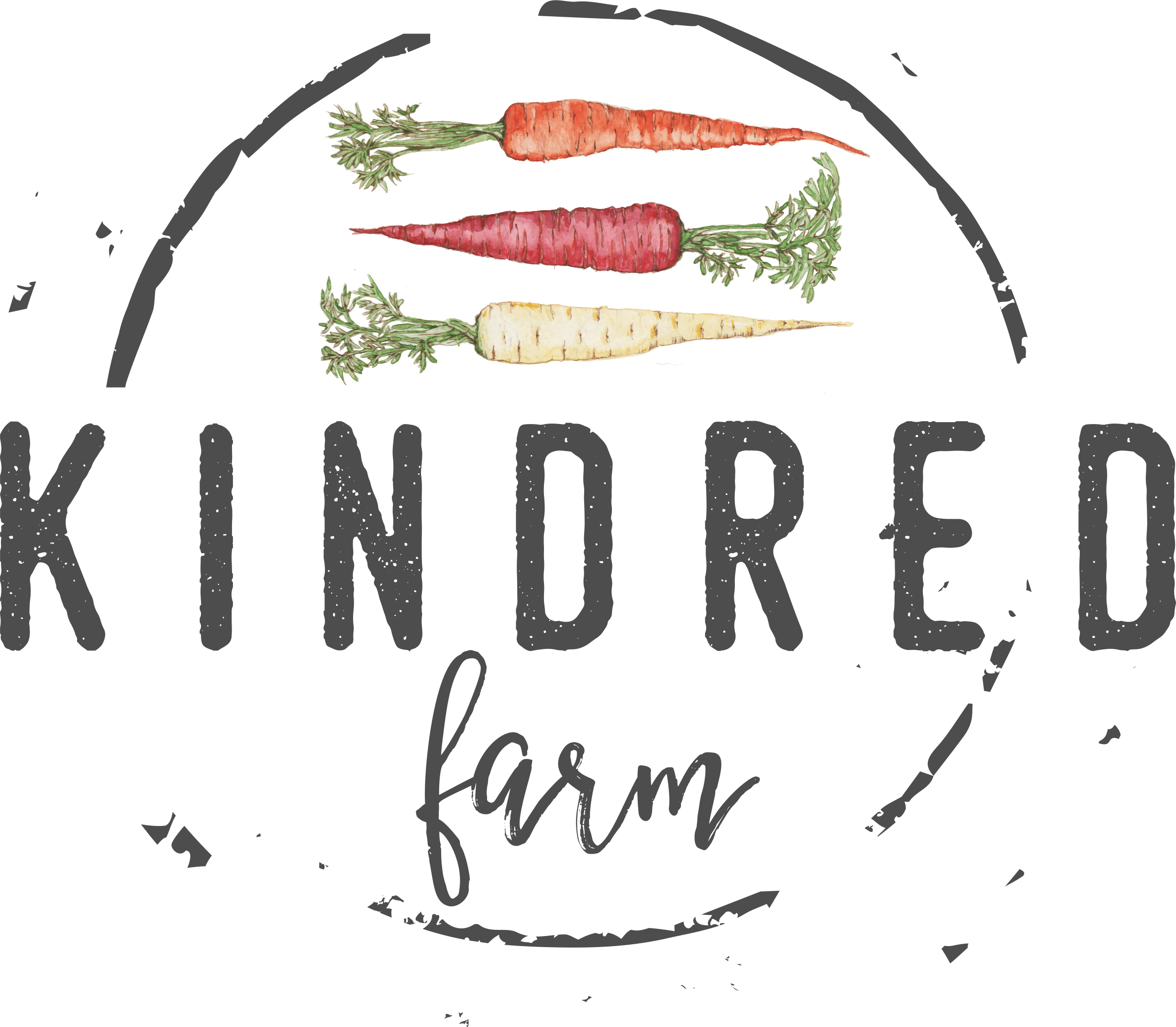 Create Kindred Farm logo to help launch organic & sustainable produce venture