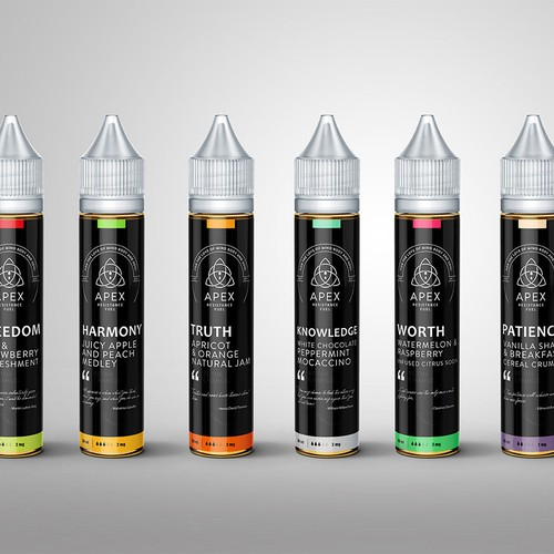 Apex - Vape liquid branding