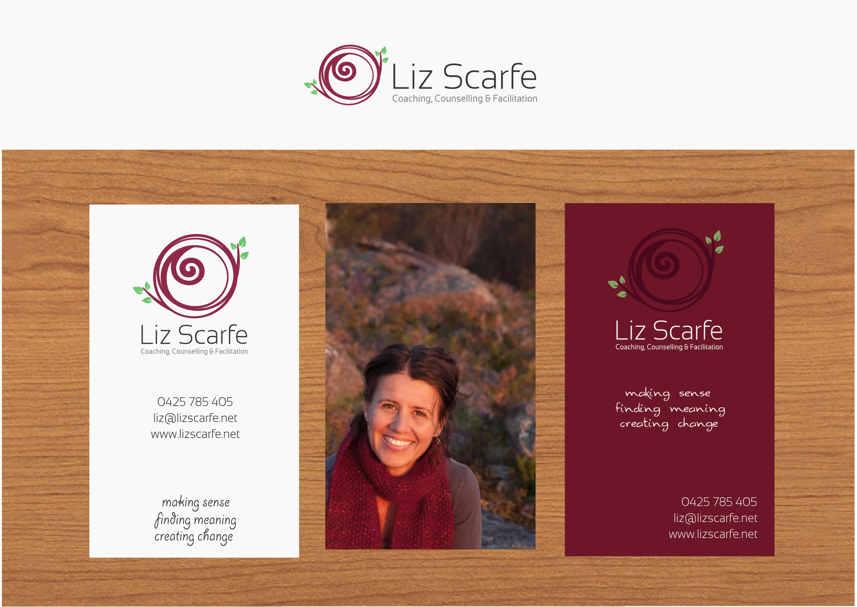 Logo & BC for a psychotherapist!