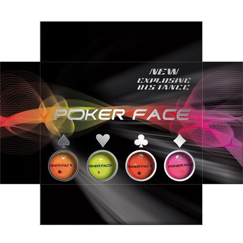 Packaging design for neon golf balls