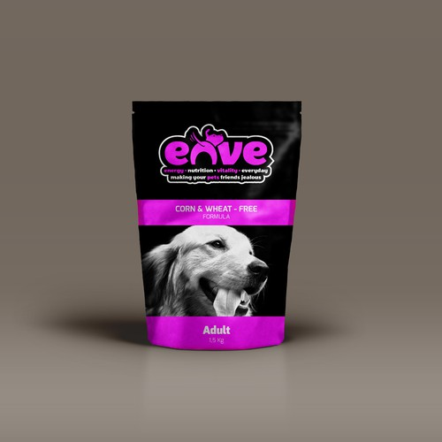 Logo for a Top Dry Dog Food Brand