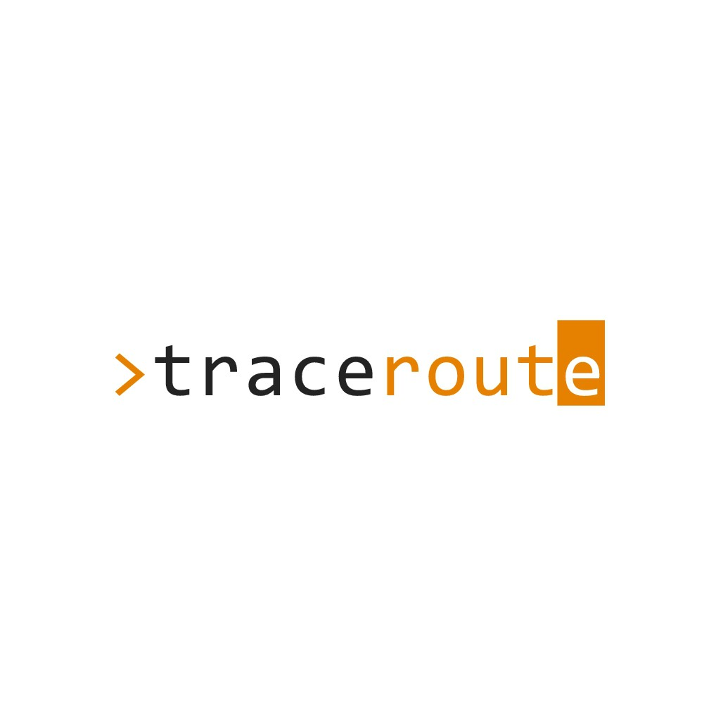 Design a techy logo for Traceroute