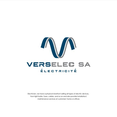 Logo design for VERSELEC SA