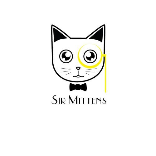 Logo for cat shop