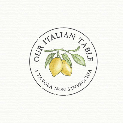 Logo concept for an Italian food blog