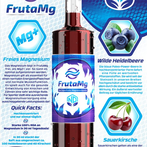 FrutaMg designs