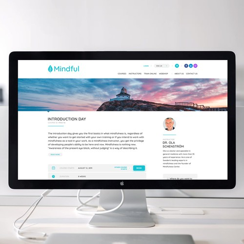 Web Page Design for Education & Learning