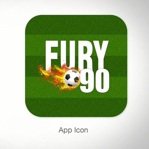 Create a winning logo for soccer / football World Cup app
