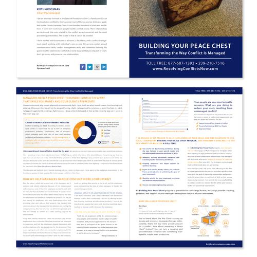 Brochure for Conflict Management Training Program