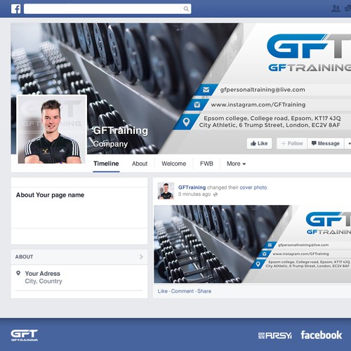 Facebook Cover & Profil Image for GFTraining