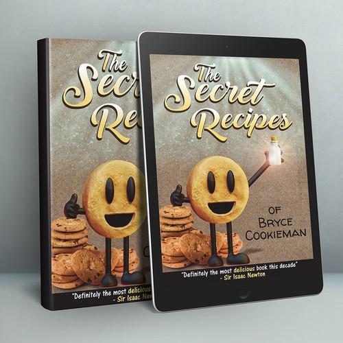 book cover- the secret recipes