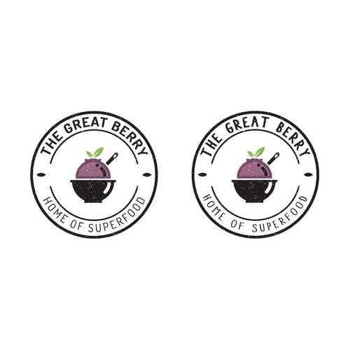 Logo design for The Great Berry