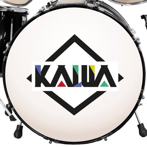 Logo for alternativ rock band Kalua