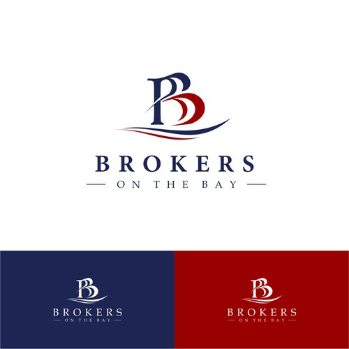 Maritime-style Logo for High Performing Real Estate Brokers