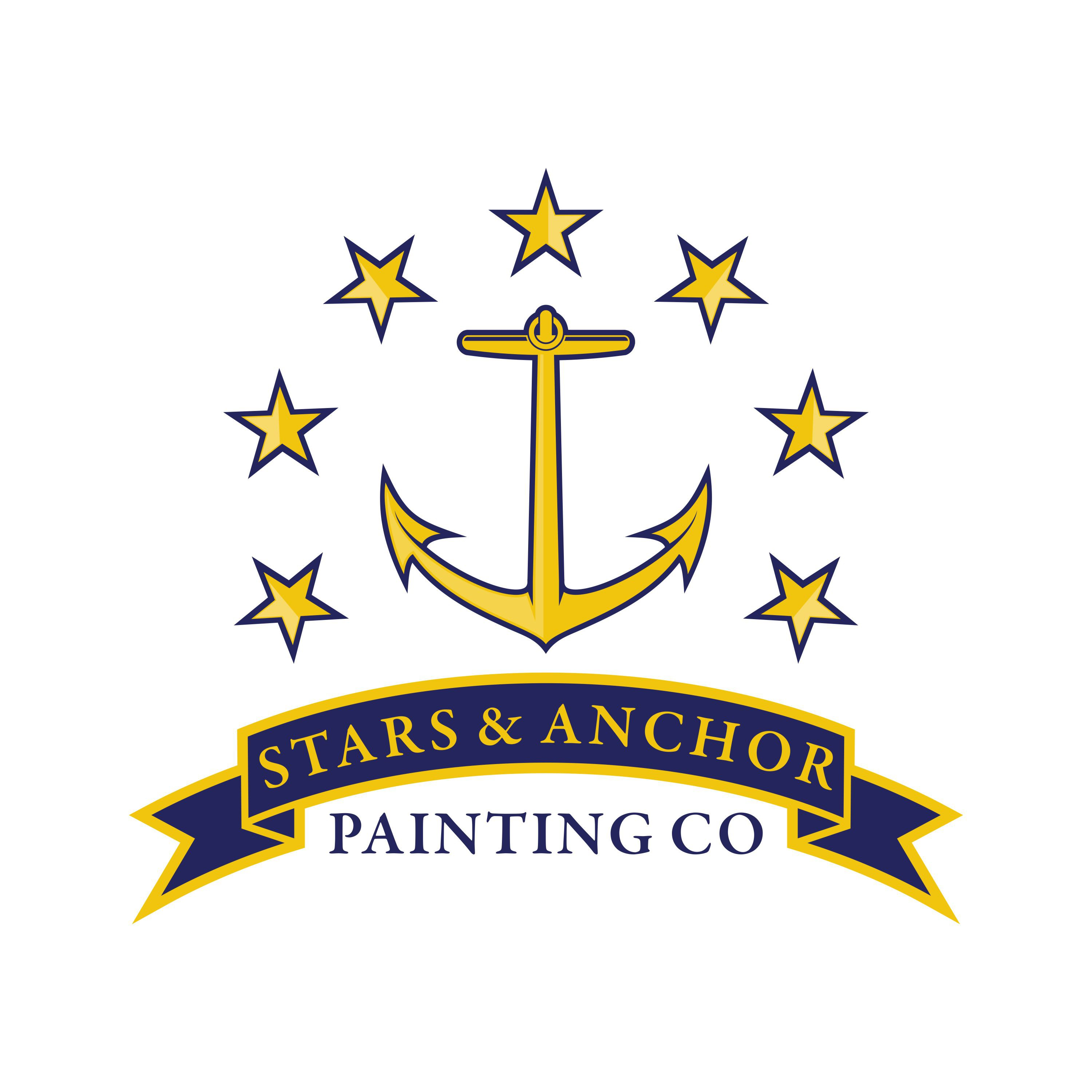 State Flag Inspired Logo For Family Painting Company