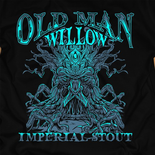 Brand a Beer! Old Man Willow Imperial Stout