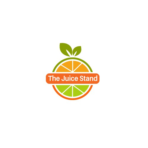 "Design a FRESH logo for ""The Juice Stand"""