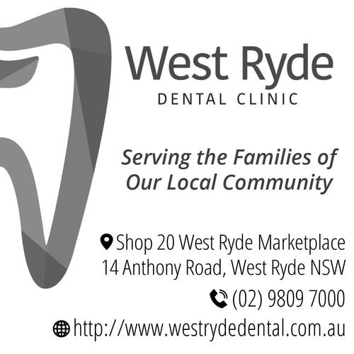 Dentist advertising for newsletter