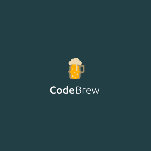 Modern and fun logo for software developers