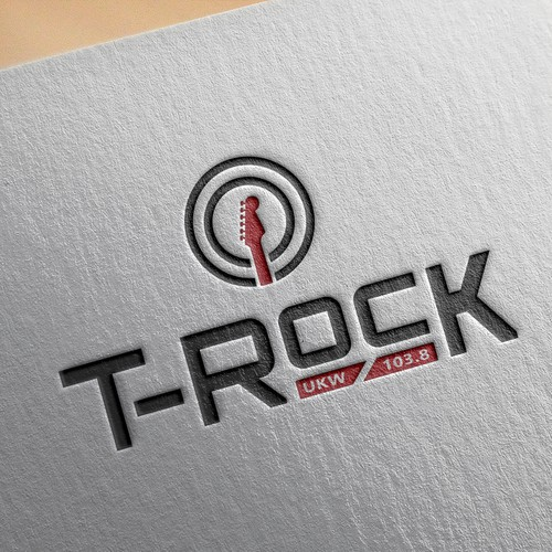 Logo for a new fm rock radio station