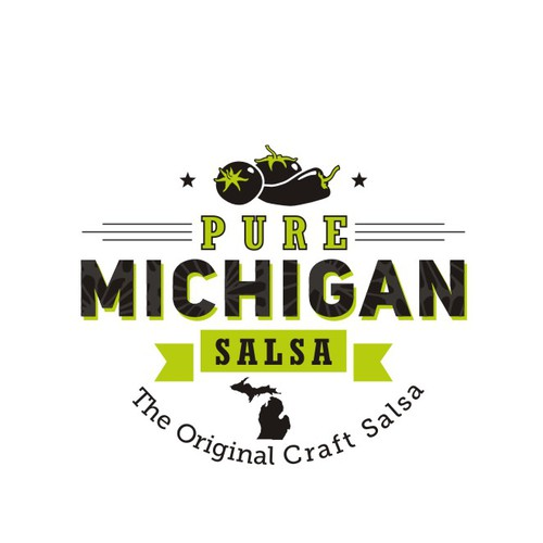 *** Pure Michigan Salsa needs an incredible new logo *** Help us brand our image!***