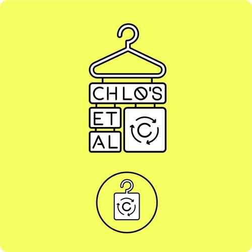 Minimalist logo design for Chlo's et Al