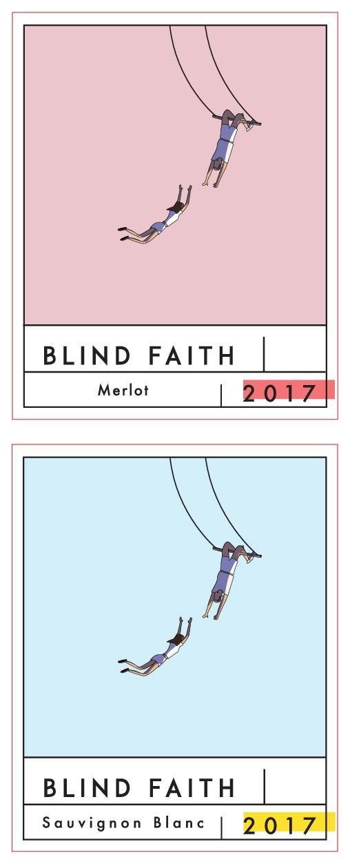 Blind Faith wine label